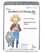 Quilt in a Day Premium Grey Wool Small Pressing Mat 3311 - $37.75