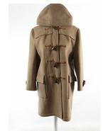 Cool brown 100% wool GLOVERALL 3/4 sleeve duffle coat M - $294.99