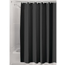 InterDesign Fabric Shower Curtain, Mold- and Mildew-Resistant Water-Repe... - $16.45