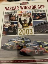 2003 NASCAR Winston Cup Yearbook VGC Matt Kenneth Champion Winston Cup Tribute - $9.90
