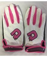 DeMarini Superlight Youth Baseball Softball Batting Gloves Pink Pair - $18.23