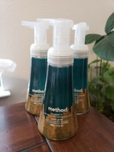 3 Method Foaming Hand Soap Pump Frosted Fir Limited Edition 10 Fl Oz Each New - $25.74