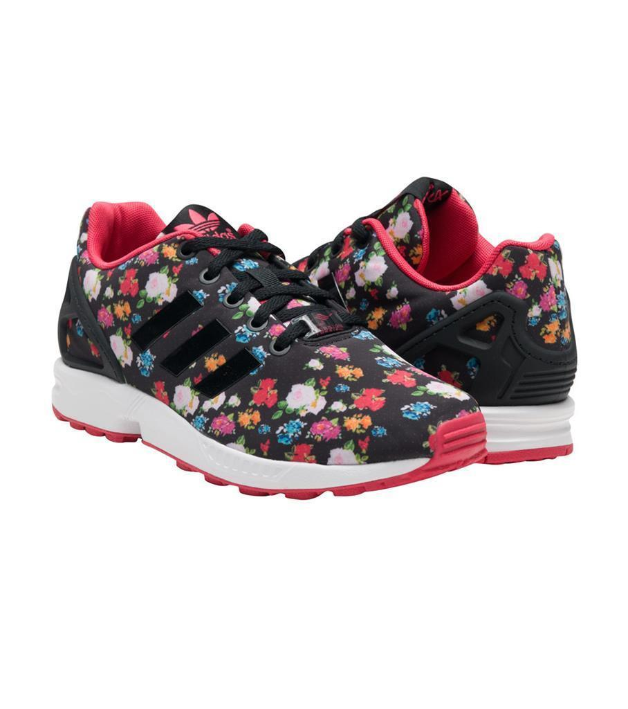 a915992f285 Adidas Black Colorful Floral Roses Pink and 14 similar items. S l1600