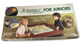 Scrabble Crossword Game For Juniors 1982 Selchow & Righter - $25.73