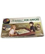 Scrabble Crossword Game For Juniors 1982 Selchow & Righter - $25.73