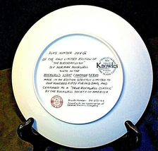 """1984 """"The Birthday Wish"""" by Norman Rockwell Plate with Box ( Knowles ) AA20-CP21 image 5"""