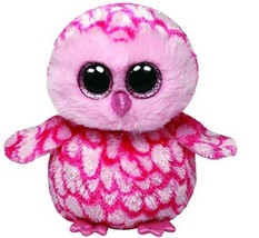 Ty Beanie Boos Pinky Pink Barn Owl Plush - $12.37