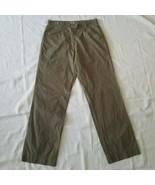 Women's Quechua Casual Pants ~ Sz 8 ~ Green ~ 100% Cotton  - $14.84