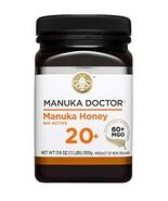 Manuka Doctor Bio Active Honey, 60 Plus, 1.1 Pound  EXP 2022 - $37.54