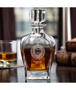 Draper Personalized Whiskey Decanter with Oxford - $59.95