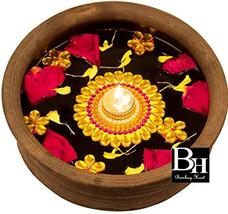 Bombay Haat Handcrafted Floating Tealight Candle Holder Floating Diya Wi... - $33.32
