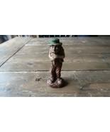 "Vintage Homeless Bum Hobo Rail Road Tramp Figure Figurine  4.5"" Flute Mu... - $16.16"