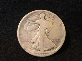 1917-s obv walking liberty half dollar   inv656 authentic american silve... - $43.00