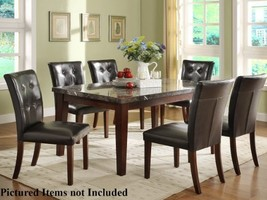 Homelegance Decatur 5 Piece Dining Table Set in Espresso - $860.19