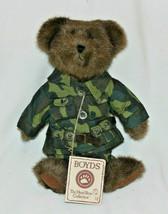 """Retired Boyds Bears 10in """"G. I. Bruin"""" Style #905000 Boy Army Uniform - $17.41"""