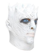 Costume Adult Mask Men's Game of Thrones Night's King White Walker Full ... - £22.20 GBP