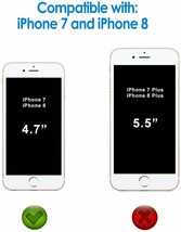 """JETech Screen Protector for iPhone 8/ iPhone 7, 4.7"""", Tempered Glass Film, 2-PK image 2"""