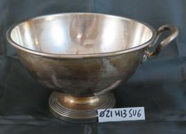 Antique Centerpieces IN Sheffield Metal silver plated Bowl Vase Planter SU6 - $50.10