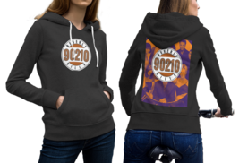 Beverly Hills, 90210 (90s TV show) Black Cotton Hoodie For Women - $29.99+