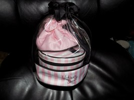 Victoria's Secret Three-Piece Travel Case / Makeup Bags  NEW - $44.88