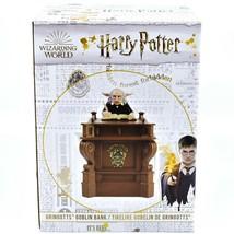 Enesco Wizarding World of Harry potter Gringott's Goblin Polyresin Still Bank