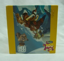 """ICE AGE JIGSAW PUZZLE 100 Pieces NEW SEALED 2002 11 1/2"""" X 16 1/4"""" Scrat... - $18.32"""