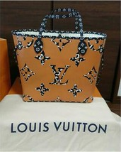 Louis Vuitton Neverfull Tote Bag MM animal Monogram M44716 - $3,356.10