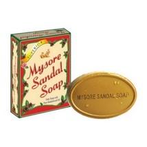 5 x MYSORE SANDAL SOAP Natural Sandalwood Oil 75g Bars *Ships Free World - $14.60
