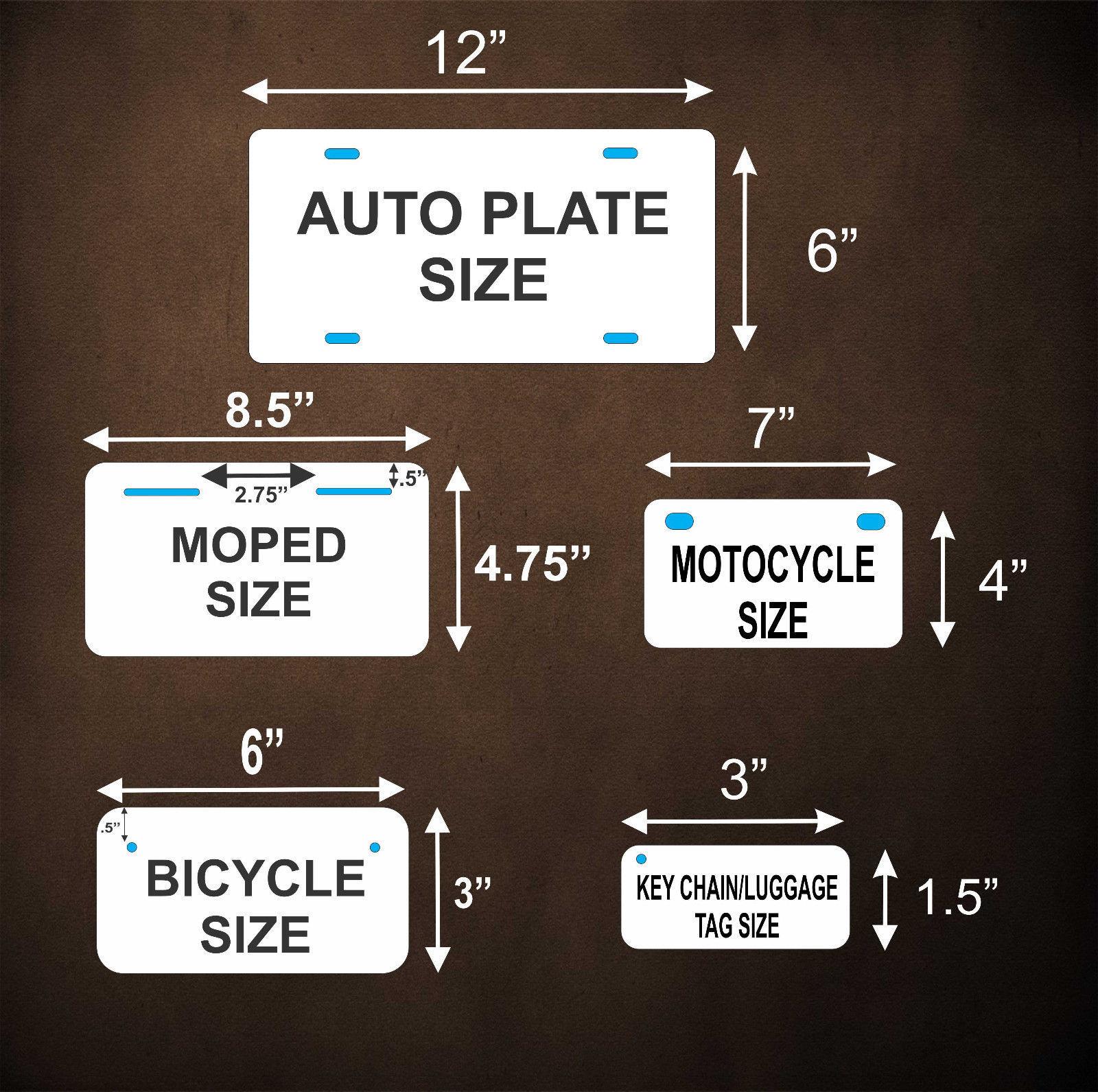 North Carolina 1969 License Plate Personalized Custom Car Bike Motorcycle Moped