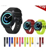 Silicone Strap For Samsung Gear S2 Watchband Replacement Strap And Metal... - $11.98