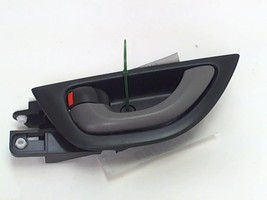 2009 Honda Fit Left Hand Front Interior Door Handle Black Grey - $13.98