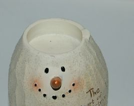 Bright Ideas HF086 Snowman Tea Light Holder The Heart of Christmas  Love Cardina image 5