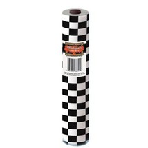 "Checkered Table Cloth Roll Plastic B&W Racing Fan Party Decoration 40"" x... - €31,16 EUR"