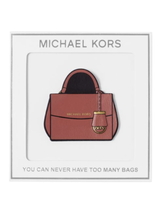 Michael Kors Luxe Leather Sticker You can never have 2 many bags 32F6MH7N4L - $11.59