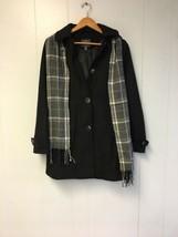 ST. JOHN'S BAY Women's Jacket  with Scarf & Hoodie (Heavy) Black Pick si... - €54,08 EUR