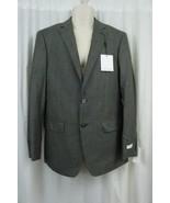 Calvin Klein Mens Blazer Suit Sz 38R Regular Grey Business Dinner Blazer... - $98.99