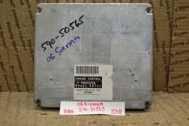 2006 Toyota Sienna Engine Control Unit ECU 8966108141 Module 538-8B6 - $18.49