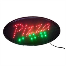 Neon Lights LED Animated Pizza Sign Customers Attractive Sign  Shop Sign... - $29.61