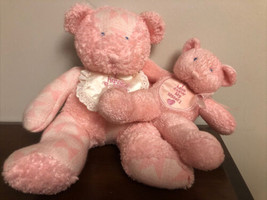 2000 Enesco I Have A New Baby Sister Big Sister Teddy Bear Rattle Plush ... - $49.50