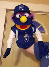 "Professional Muppet Style ""KC Royals Fan"" Ventriloquist Puppet *Custom Made - $50.00"