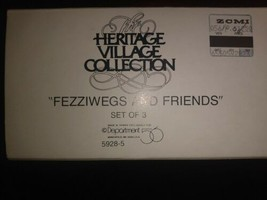 Fezziwegs And Friends Heritage Village 5928-5 Dept 56 - $14.99
