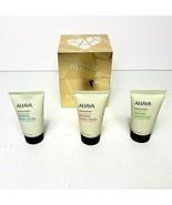 New AHAVA Magnificent Mineral Trio Hand Cream Body Lotion Shower Gel Veg... - $34.81