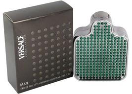 Versace Jeans Couture Green Bottle Man 2.5 Oz Eau De Toilette Spray image 3