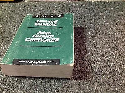 2004 JEEP GRAND CHEROKEE Service Shop Repair Manual Set OEM FACTORY 2004 BOOK