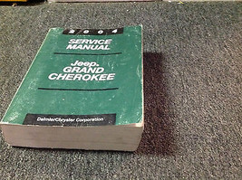 2004 Jeep Grand Cherokee Service Shop Repair Manual Set Oem Factory 2004 Book - $114.84