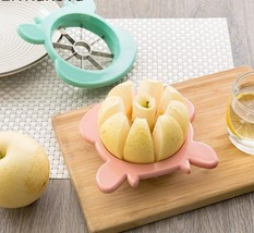 Apple Slicer Corer Remover Wedger Stainless Steel Pear Slicer Divider Cu... - €7,88 EUR