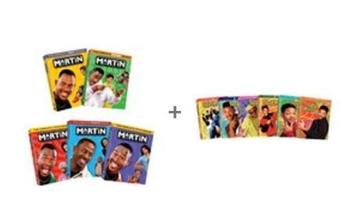 Martin Fresh Prince of Bel-Air DVD Set Complete Seasons Series TV Collection Lot