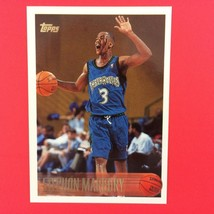 Stephon Marbury Rookie Card 1996-97 Topps #177 Minnesota Timberwolves - $4.90