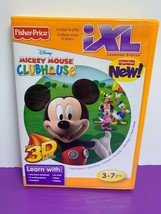 Fisher Price IXL Learning System Software Mickey Mouse Clubhouse CD-ROM Disney - $4.99