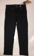 Levi's Girls' Little 710 Super Skinny Fit Knit Jeans, Black Rinse, 4 - $30.01